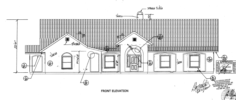 Front Elevation For 1 Story : House building photos lightupontheearth